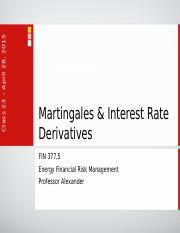 Lecture 20 - Interest Rate Derivatives.pptx