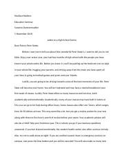 Letter to a High School Senior.docx