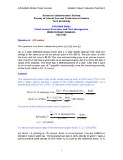 ADMS4504A_midterm exam solutions_Fall 2014