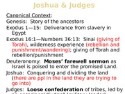 Joshua & Judges, History and TheologyBB.pptx