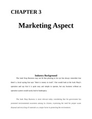 3.marketing aspect