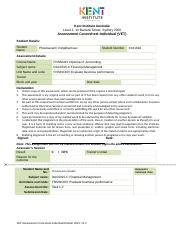 FNSACC607 Evaluate business performance (1).doc