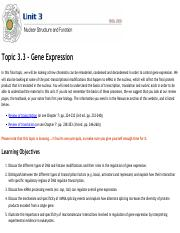 Topic 3.3 - Regulation of Gene Expression - Online Notes &....pdf