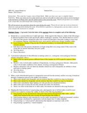 npb npb 102 animal behavior university of california davis rh coursehero com Ethology Major chapter 51 animal behavior study guide answers