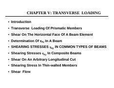 CIV310-chapterVI_transverse_Loading_in_beams_.pdf