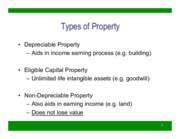 Depreciable Property (Winter 2015) - student revised
