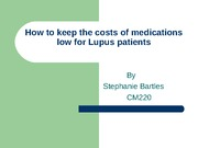 How to keep the costs of medications low