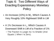 11-02-08-Two Types of Monetary Policy-Topic 6
