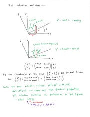 Phys 339 Rotation Matrices Notes