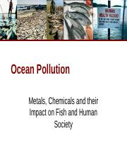 17 Ocean Pollution Fish Poisoning