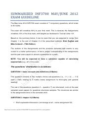 INF3708_summarized_inf3708_s1_exam_guideline