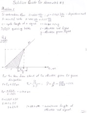 CE 375 Solutions to Homework 3