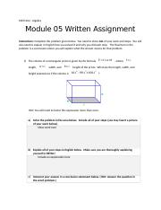 Module 05 Written Assignment(1)-2