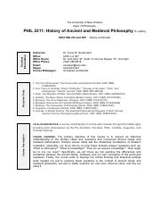 History of Ancient and Medieval Philosophy - Course Syllabus S15.pdf