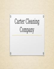 Carter Cleaning Company.pptx