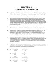 Chemistry - Chapter 15-Soultions