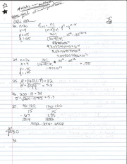 Random Variable Notes