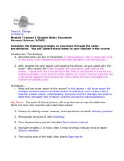 FS Module 7 Lesson 1 Pathology Guided Notes- Tierra R. George.doc