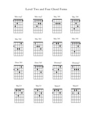 Guitar Chords Level 2,4