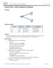 2.3.1.2 Packet Tracer - Skills Integration Challenge Instructions.docx