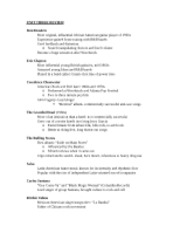 Pop Song Unit 3 Notes