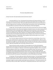 The Great Gatsby Reflective Essay.docx