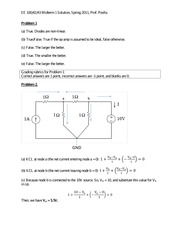 EE 42 - Spring 2011 - Poolla - Midterm 1 (solution)