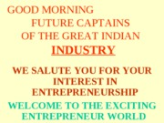 good morning indian industry