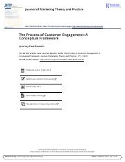 The Process of Customer Engagement A Conceptual Framework.pdf