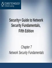 Chapter 7 Security Guide To Network Security Fundamentals Fifth