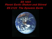 lecture+7+EARTH+STRUCTURE+and+SEISMOLOGY+Jan+28+2015