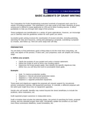 cpb-grant-writing