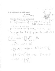 Midterm1 - Solutions (32b)