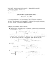 Deterministic Dynamic Programming.pdf