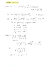 Final Exam 2010-2011 Solutions