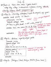 ECEN_248 Lab7 pdf - Lab 7 Introduction to Behavioral