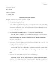 outline for the crucible research paper mccarthyism arthur  6 pages the story of an hour questions and essays