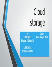 Cloud storage.pptx