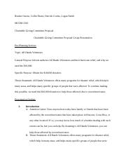MCOM 2310 Charitable Giving Committee Proposal Group Outline.docx