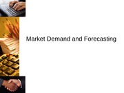 Demand and Forecasting