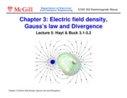 Ch3 Electric flux density Gauss law and Divergence(1)