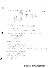 Scalar Addition And Multiplication Notes
