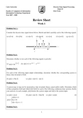 IT341_HOMEWORK_Sheet No. 1