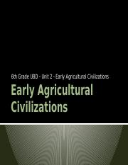 Early Agricultural Civilizations.pptx