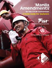 'Manila Amendments' to the STCW Convention - A Quick Guide for Seafarers (2010).pdf