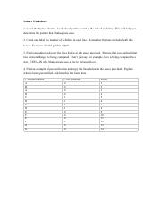 Module Six Lesson One Completion Assignment