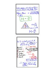 lesson 5b mole calculations classnotes