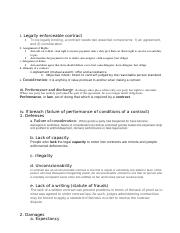 study guide law test 2