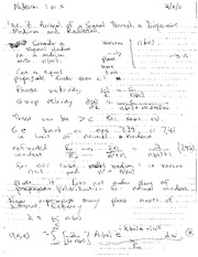 Lecture Notes G on Electricity and Magnetism