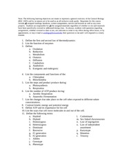 BSC1005_Study_guide_exam_3